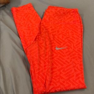 Nike dry fit workout leggings